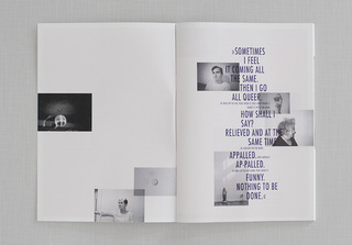 <br><strong>NOTHING TO BE DONE</strong> <br>Zine / 2011